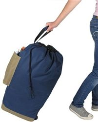 Laundry Express - Dorm Laundry Bag with Wheels - College Life Essentials for your Dorm Room