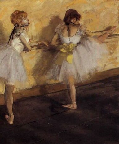 "art matters -   ""Art is not what you see, but what you make others see.""   — Edgar Degas *   Little Dancer Fourteen Years Old 1881 Edgar Degas   artist Frida Kahlo's 'Ca"