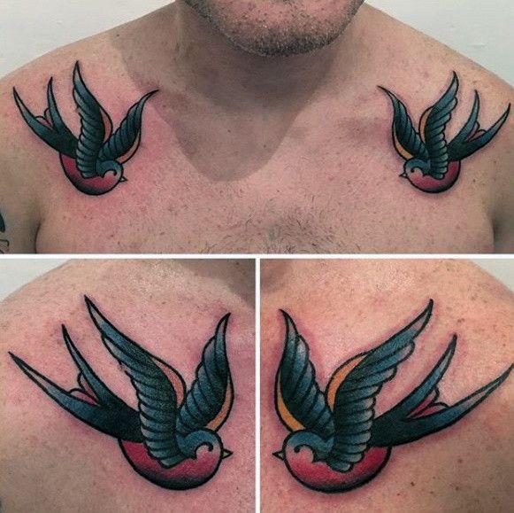 Schwalben Tattoo