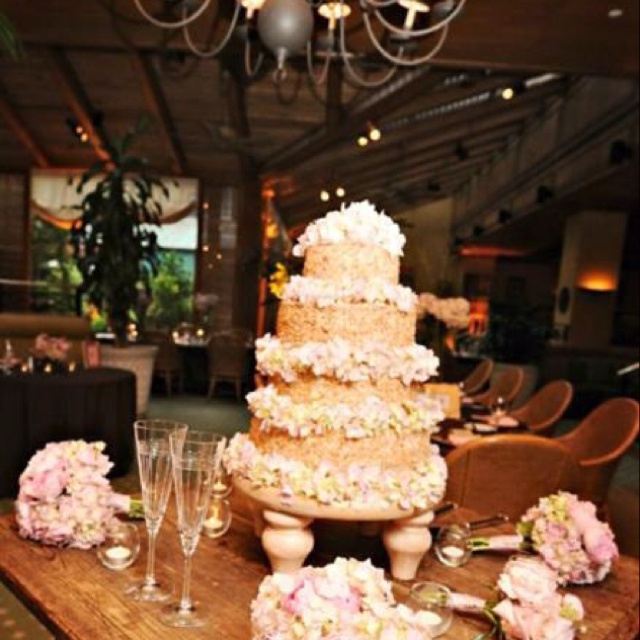 who says a wedding cake has to be white peninsula grills famous