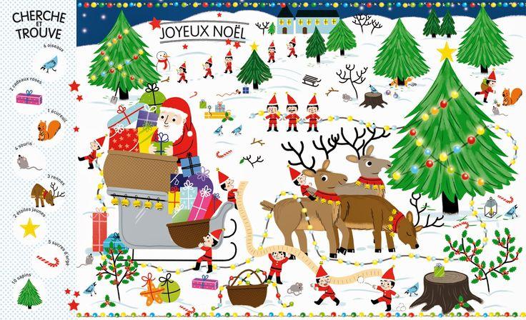 Voici un catalogue de Noël très spécial!   Il est géant, farfelu, joyeux, ludique et renferme mille et un jouets à observer et à compte...