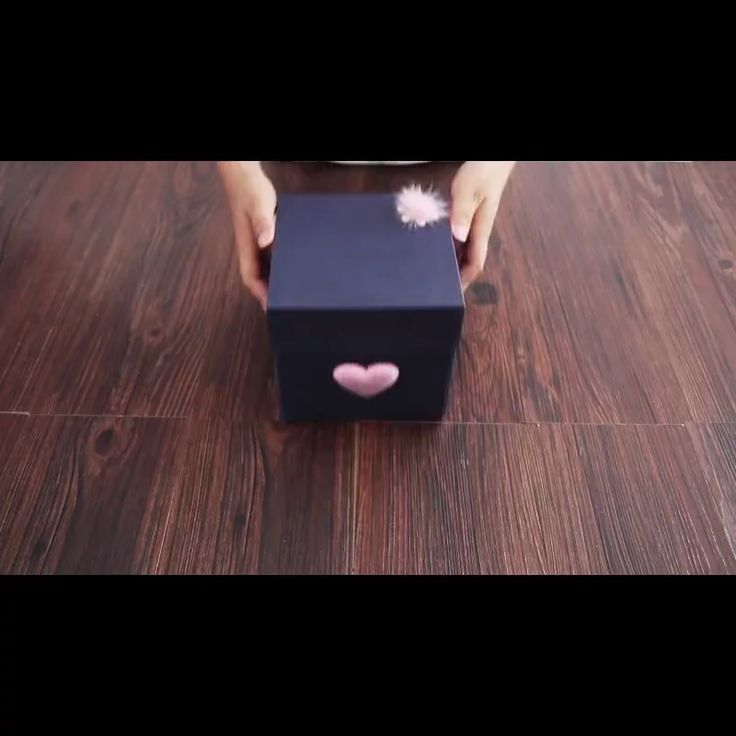 DIY Explotion Box For Mothers Day With DIY Kit