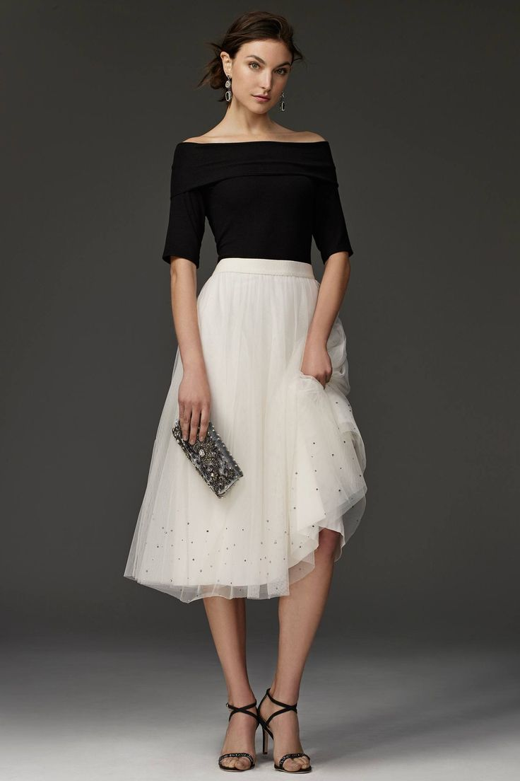 Pirouette Tulle Skirt - anthropologie.com