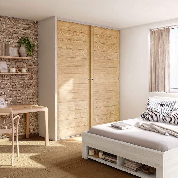 Main Material Panel In Medium Oak Veneer Bedroom Interior Furniture Small Room Design
