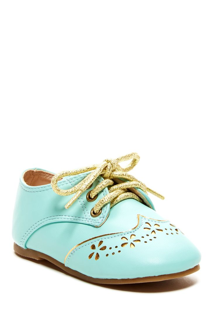 Wingtip Oxford Shoe (Toddler) by The Doll Maker on @HauteLook