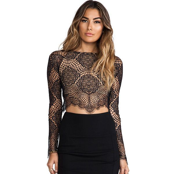 Hairstyles with mesh top dress
