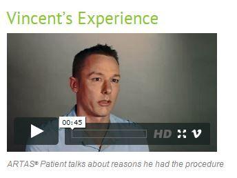 Hear what ARTAS client Vincent has to say about his experience. #ARTASRobotics