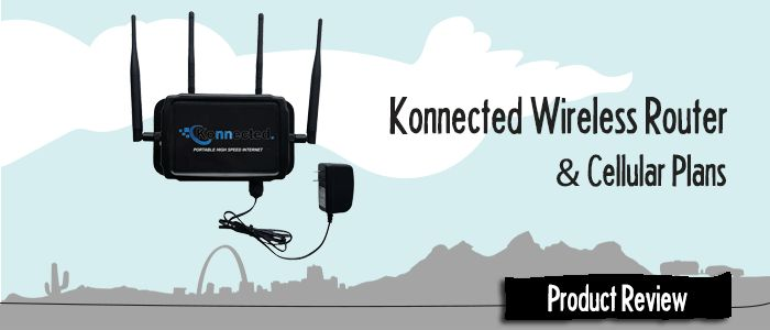 Review: Konnected Router & Data Plans (Cellular Data Plans & Router) – Mobile Internet Resource Center