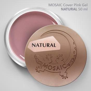 Mosaic Cover Pink Gel NATURAL