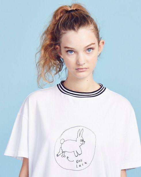 Lazy Oaf Bad Luck Bunny T-shirt