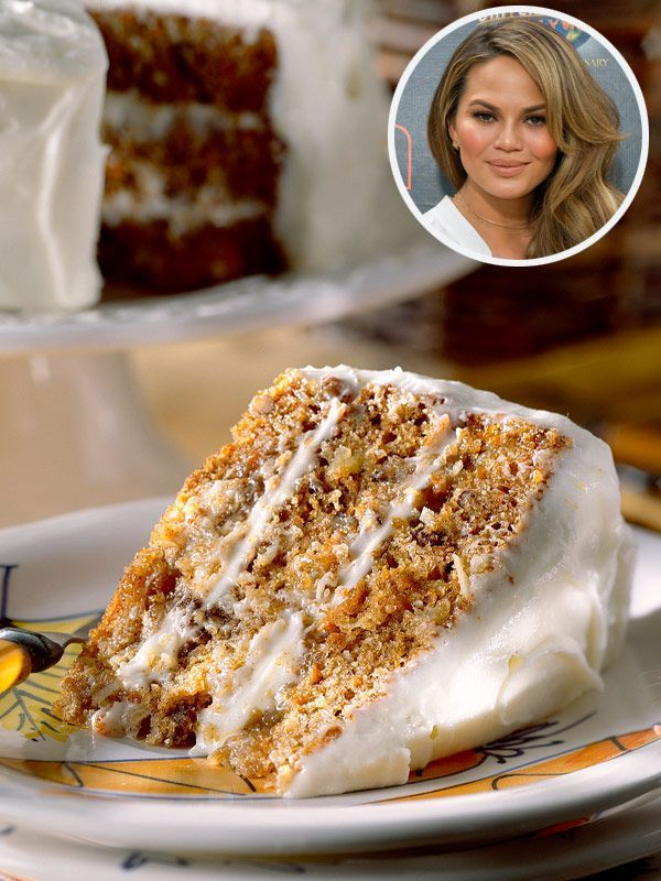 Chrissy Teigen Is Obsessed with This 'Absurd' Carrot Cake, and We've Got the Recipe