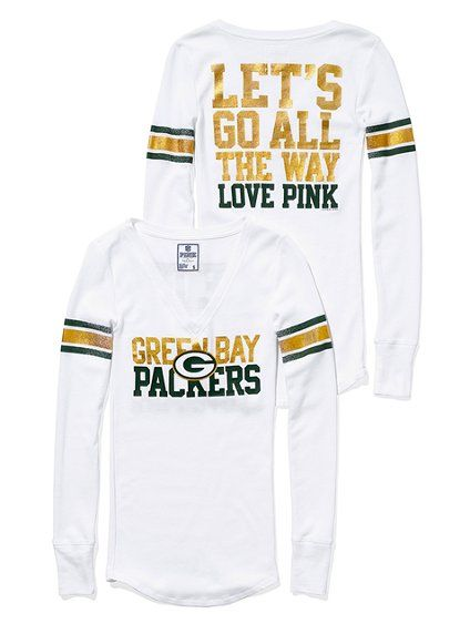 love the cuteness of victoria's secret's packer wear.