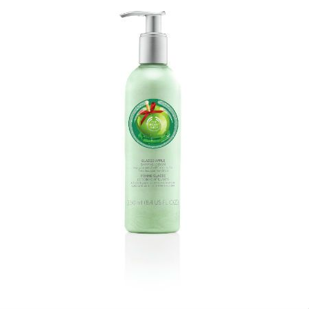 The Body Shop Limited Edition Glazed Apple Shimmer Lotion