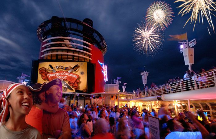 Disney Cruise Line is the only fleet to offer fireworks at sea!!!  To book, contact Wish Upon A Star Travel at 805.814.0927 or Kevin@WishUponAStarTravel.com