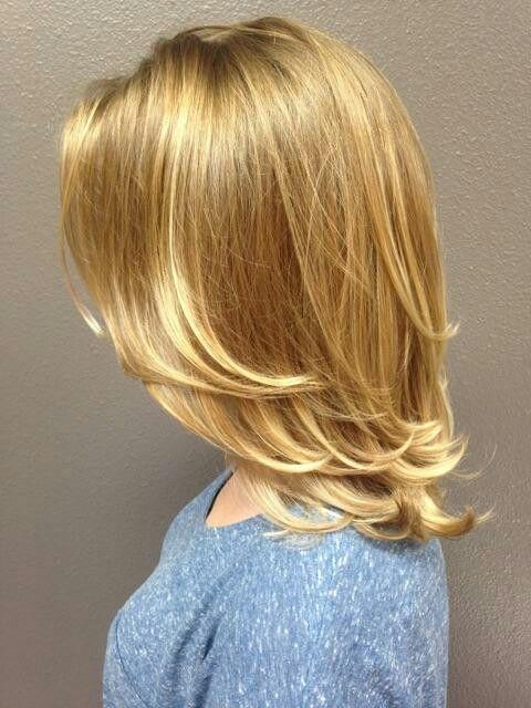 Balayage blonde hair - Anastasia Salon, Portland