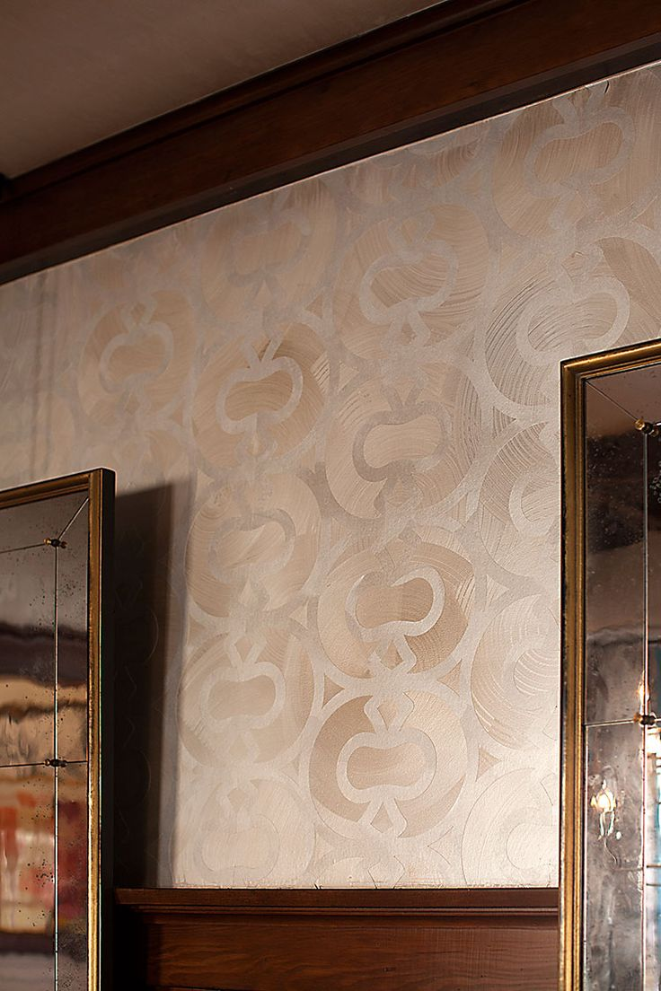 Beautiful Wallcovering Detail Of The STRATA Wall Coverings Line By The Elan  Evans Studio | Interior