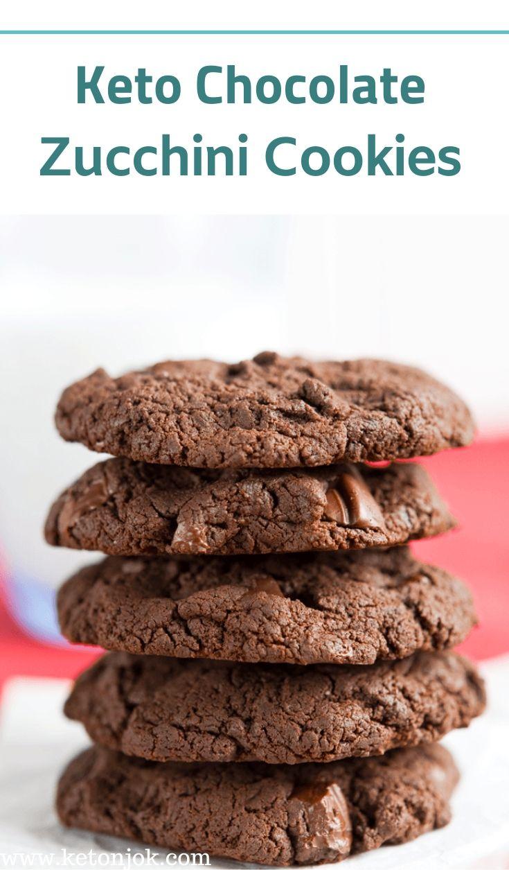keto chocolate zucchini cookies chocolate zucchini cookies zucchini cookies chocolate zucchini pinterest