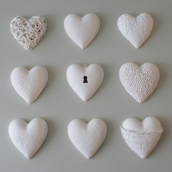 porcelain heart heirloom  framed heartART nr 1  by ArtMind on Etsy, €58.00