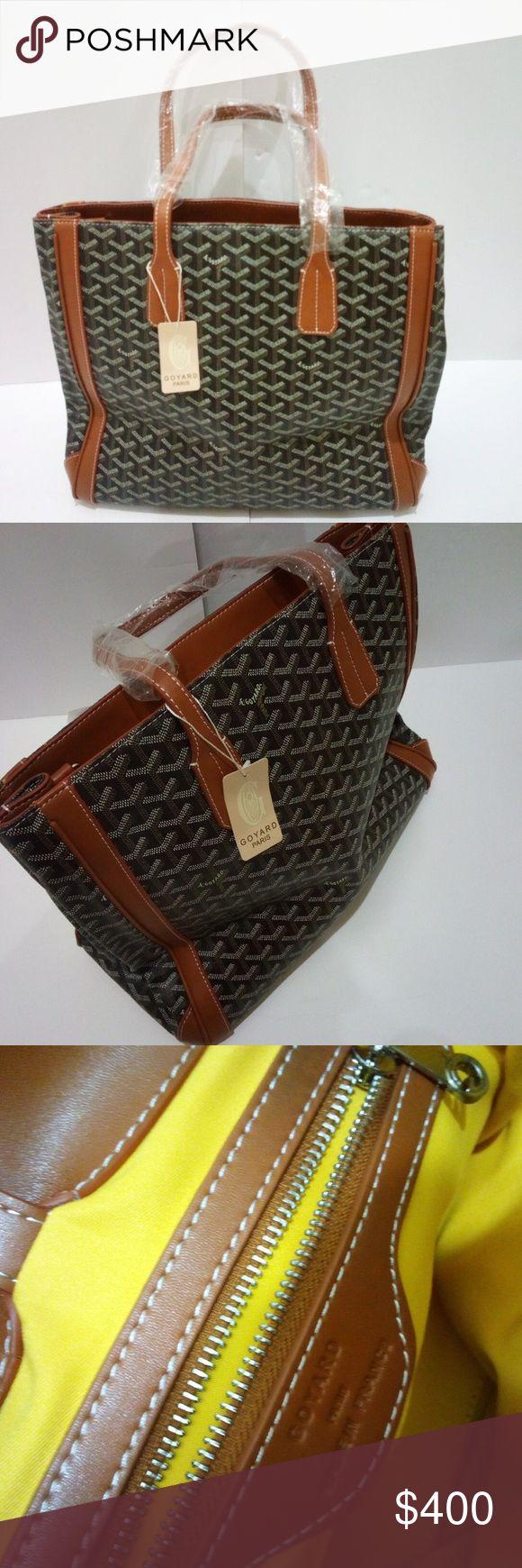 Goyard Purse Brand new with tags & dust bag. Goyard tote purse, really nice stylish bag! Bags Totes