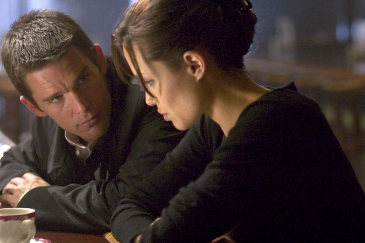 Ethan Hawke and Angelina Jolie