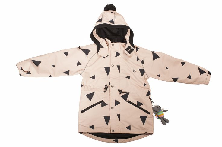 Cute Parka jacket for little fashion girls www.miomao.fi