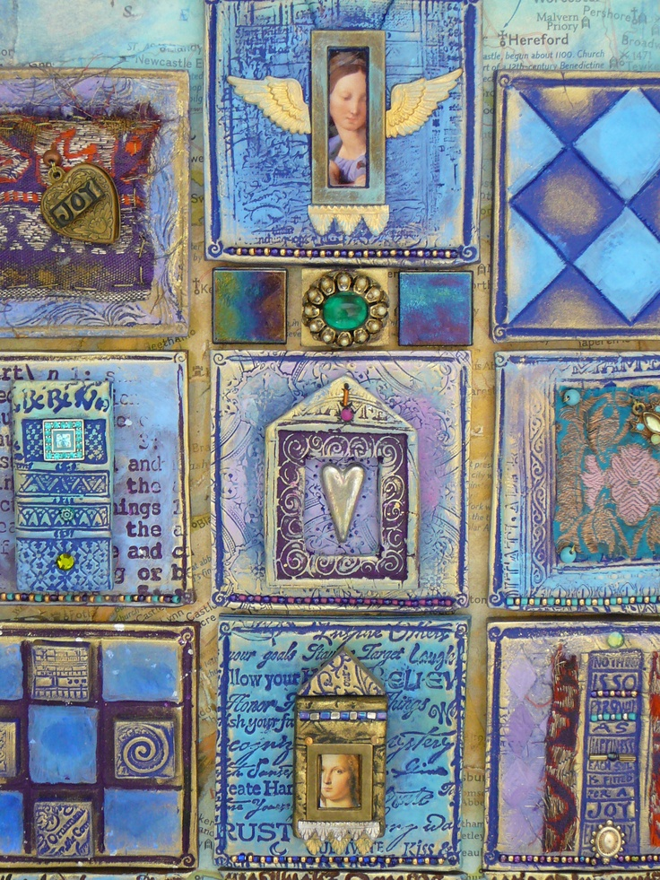 Laurie Mika-Blue Clay Quilt