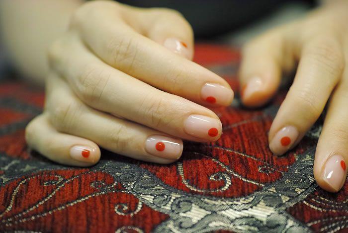 NAIL-COMMON: [赤]dot nail