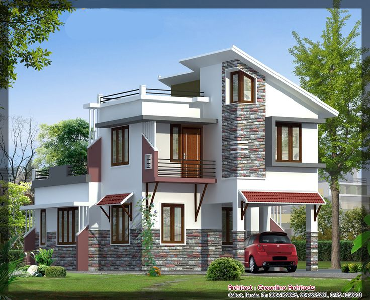 Latest Villa Elevation At 1577 Sq Ft Best Elevation