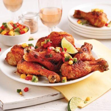 Pilons de poulet cajun - Recettes - Cuisine et nutrition - Pratico Pratique