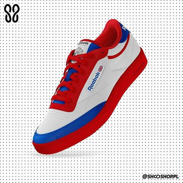 "Polubienia: 9, komentarze: 2 – SHOOSHOP.PL (@shooshop.pl) na Instagramie: ""@SHOOSHOP.PL | REEBOK | CLUB C | SS2217 #reebok #yourreebok #custom #customized #sneakerhead…"""