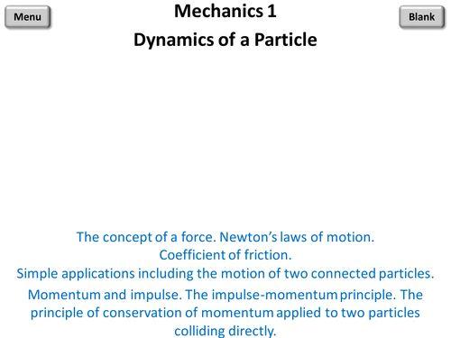 Mechanics 1 PowerPoint
