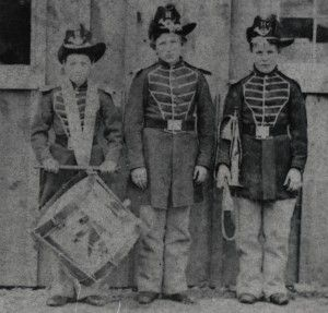 Three Boy CW Musicians (duties of buglers- pg2)