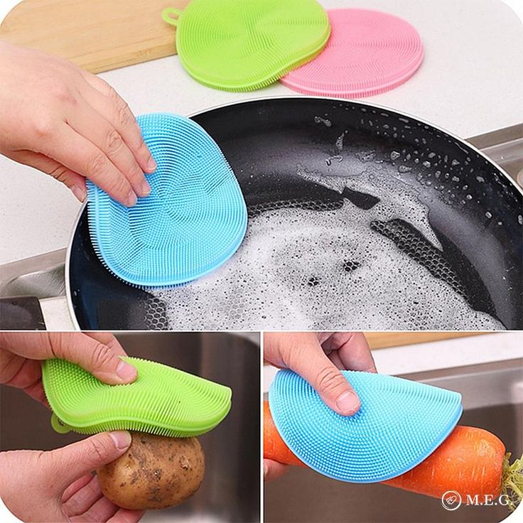 Your kitchen is about to experience a makeover! With 5,000 micro bristles, the Magic Sponge will make washing dishes feel like a breeze! It's guaranteed safe to use on non-stick cookware and all other kitchen surfaces. The Magic Sponge also dries much faster than your smelly kitchen sponge, so it won't host bacteria th