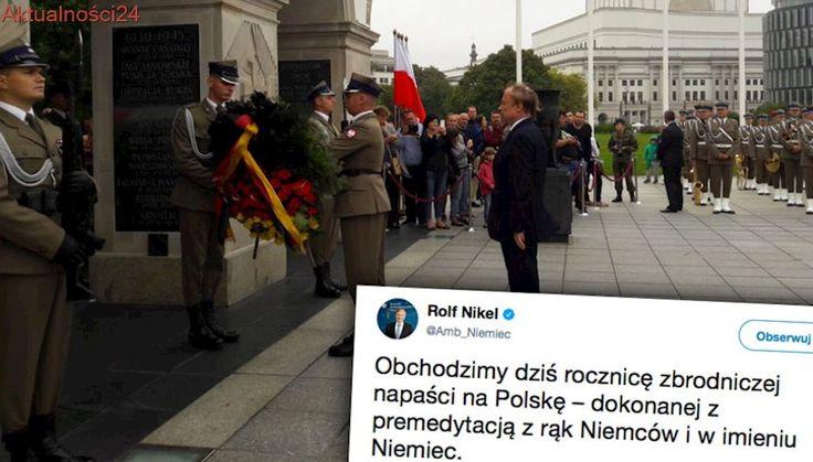 Ambasador Niemiec: zbrodnicza napaść z rąk Niemców i w imieniu Niemiec