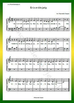 er is er een jarig muziek 7 best liedjes images on Pinterest | Piano, Pianos and Sheet music er is er een jarig muziek