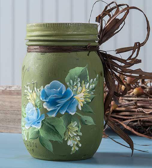 Mason Jars, Three Ways With Donna Dewberry