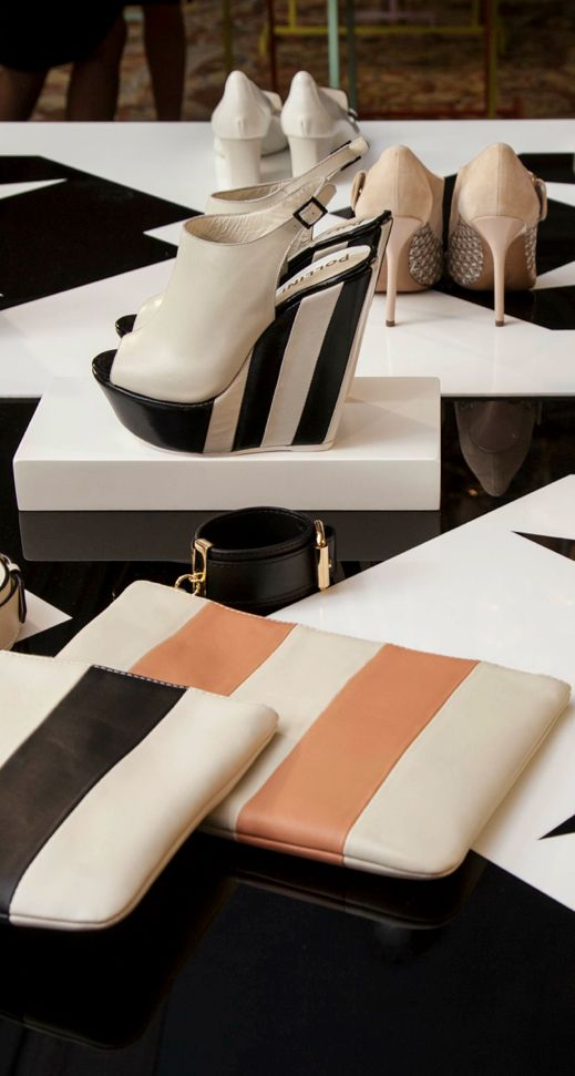 Pollini Spring/Summer 2014 stripes