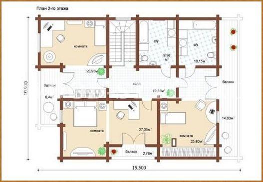 Проект комби-дома «Флагман»