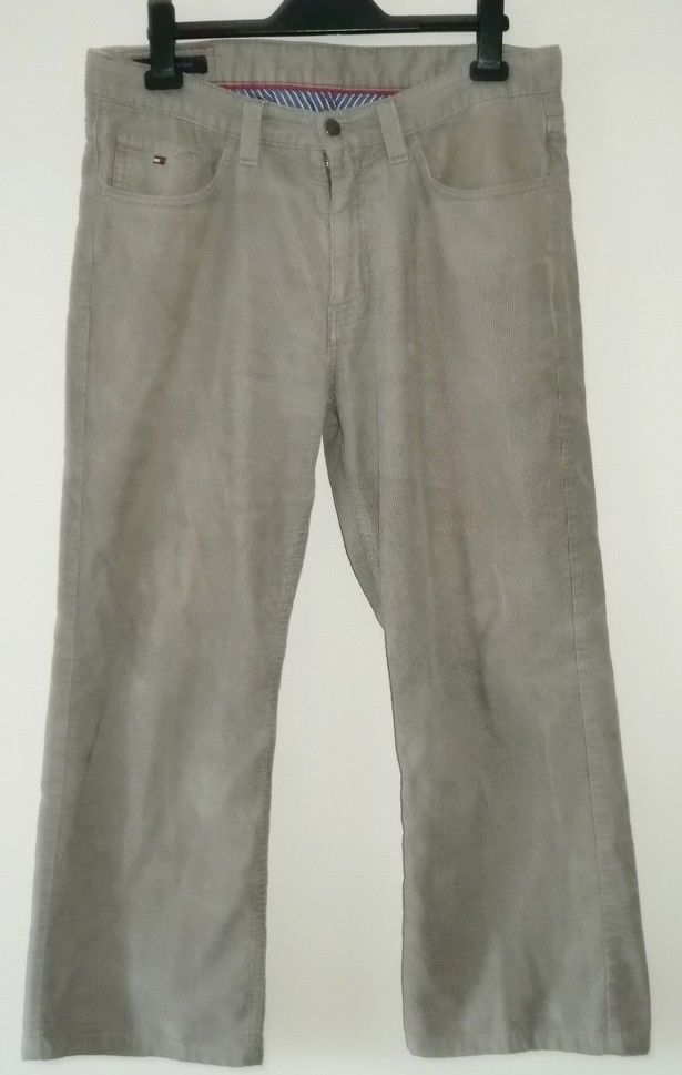 Tommy Hilfiger Madison Straight Fit Men's Cords Jeans W34 L30 #TommyHilfiger #ClassicFitStraight