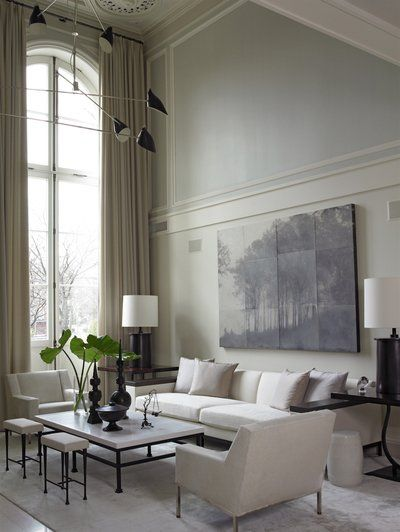 Best 25 brownstone interiors ideas on pinterest for Minimalist victorian living room