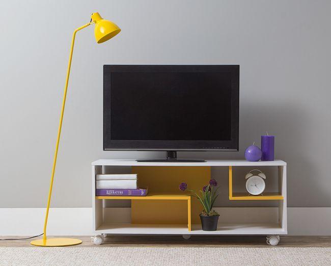 Rack Cambuci - Amarelo
