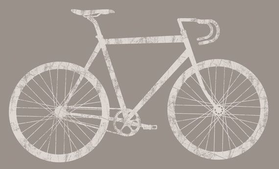 Silhouette Bike Stock Canvas Cycling Bicycle Bike