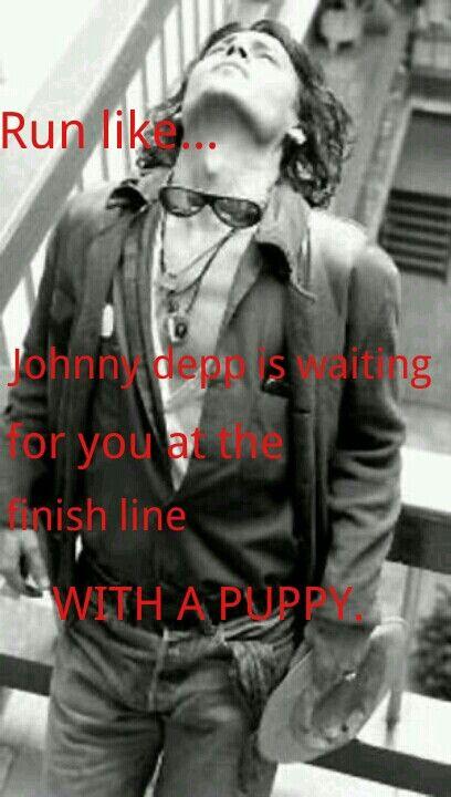 Johnny Depp fitness inspirational meme, ryan gosling hey girl inspired