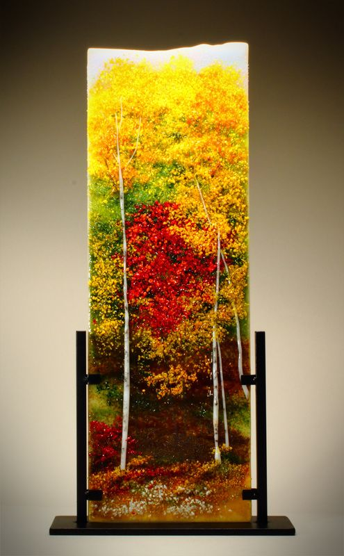 usually don't care for birch/aspen pieces as everyone and their uncle is making them but this one is fine!