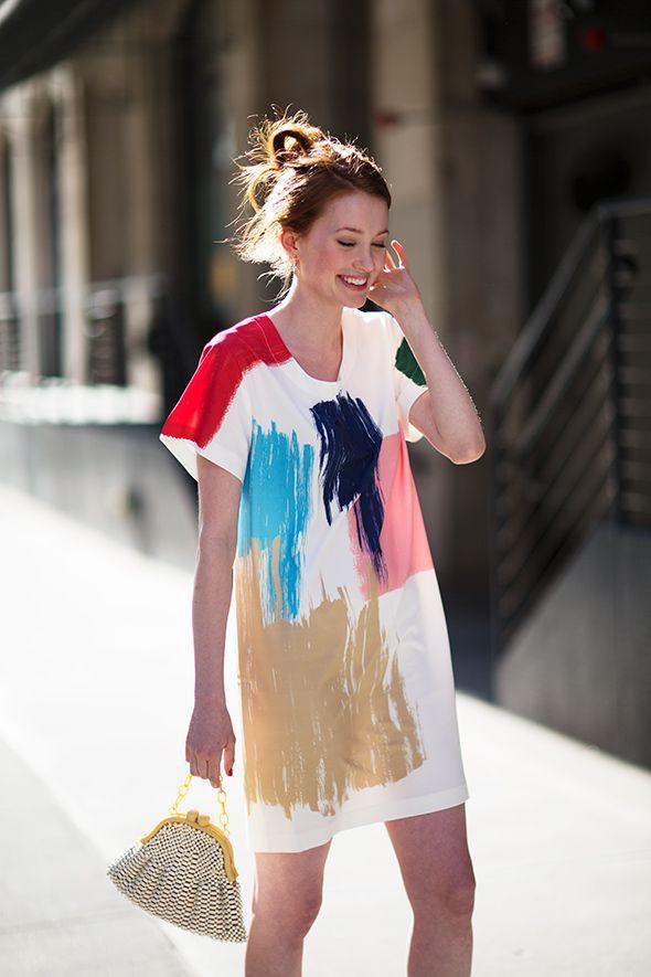 Chloe…Portraits on Canvas….New York | The Sartorialist | Bloglovin'