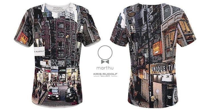 T-shirt designed by  artist KRIS RUDO High quality 100% cotton.