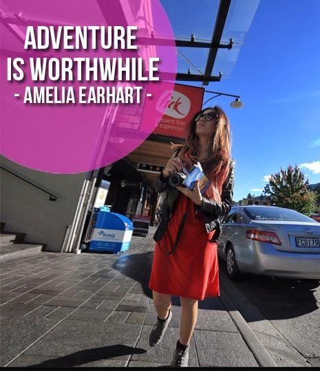 Adventure is worthwhile. -Amelia Earheart  Find us on twitter: @LuxuryNZ_ID and on facebook: Luxury NZ Indonesia #LuxuryNZid