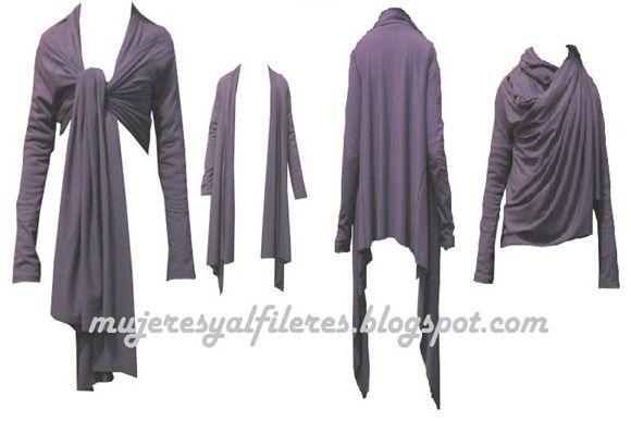 Mujeres y alfileres: Molde de blusa de modal para descargar