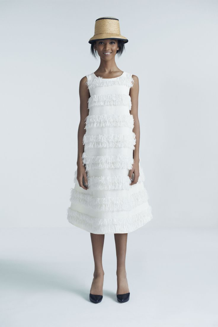 Steffi Cloche Hat and Siv Dress | Samuji Pre-Fall 2014 Collection