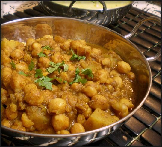 Chickpea Daal (Indian) from Food.com: This is my mother's recipe. There are variations throughout India and this is from Northern India (Punjab). It is actually a relatively easy recipe and can be left unattended for the majority of the time. Make sure to use the best and freshest ingredients available. Leftovers can be kept in the fridge for a few days.